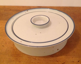Vintage Dansk Generation Blue Mist 1.75 Quart Covered Casserole - Dansk Designs Denmark - Niels Refsgaard