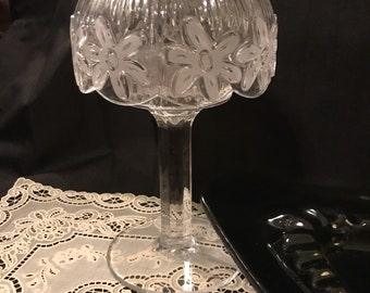 Crystal Votive Vintage Candle Holder Royal Limited Crystal Votive Candle Pedestal Victorian Crystal