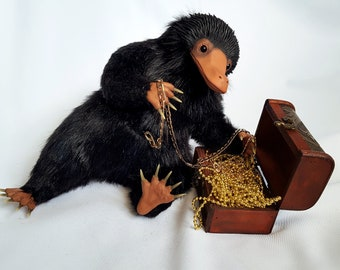 Made to order! Niffler, fantastic beasts and where to find them, from the world of Harry Potter