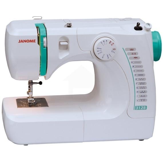 Janome 3128 Sewing Machine Lightweight Free Arm Sewing