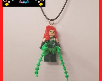 Poison Ivy Mini Fig Toy Necklace