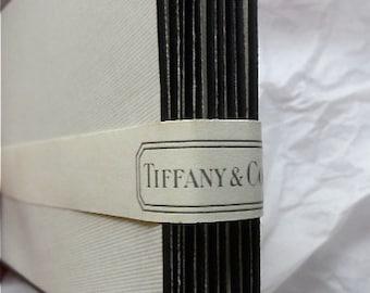Tiffany Mourning Stationery Envelopes 10 Count Vintage 1930s Embossed Black Rimmed Card