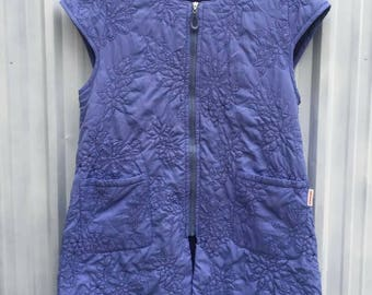 Very rare!!! Jonku Shimada Japanese Designer Vest Floral Style