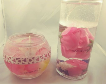 Gel candle set