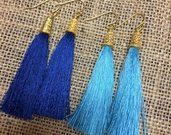 Luxury Tassel Earrings  Bridesmaid Gift