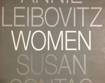 Women; Annie Liebovitz and Susan Sontag's collaborative book of photographs, 1999, hardcover