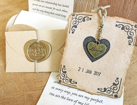 Love is in the air st anniversary gift personalized love