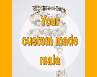 Your custom made Mala necklace