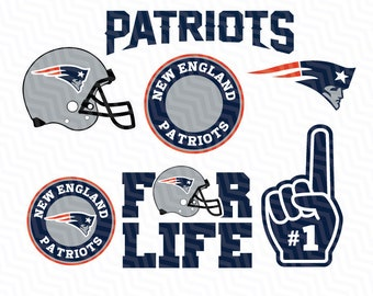 New England Patriots SVG File, American Football, Football Svg files, Cricut, Silhouette Cut File, Vector Cut File, Logo, Instant Download