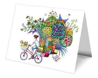 Notecard - Tour de Plants