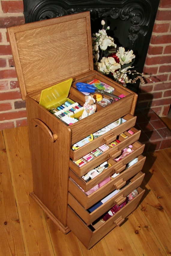 Items Similar To Craft And Hobby Storage Box For Embroidery, Sewing, Cross  Stitching, Card Making, Beading U0026 Jewellery Making, Etc. On Etsy