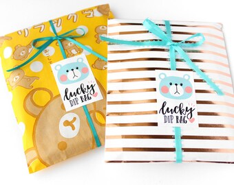 Kawaii Lucky Dip Bag / Cute Grab Bag items from Handmade by JJkun's Shop