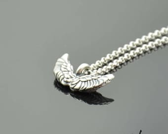 Pendant Small Wings Silver