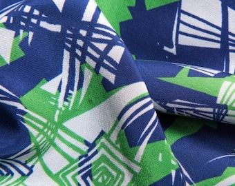 SILK SCARF St. Brigid's Cross (NAVY)