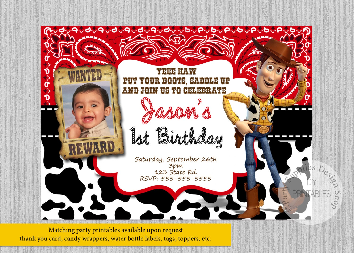 Luxury Woody Party Invitations Images - Invitation Card Ideas ...