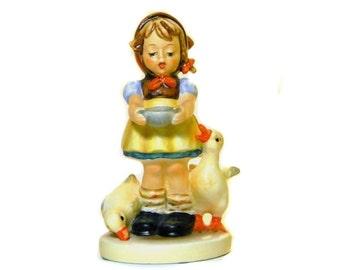 Hummel Figurine Be Patient #197 2/0 Goebel West Germany TMK 6 Signed '79