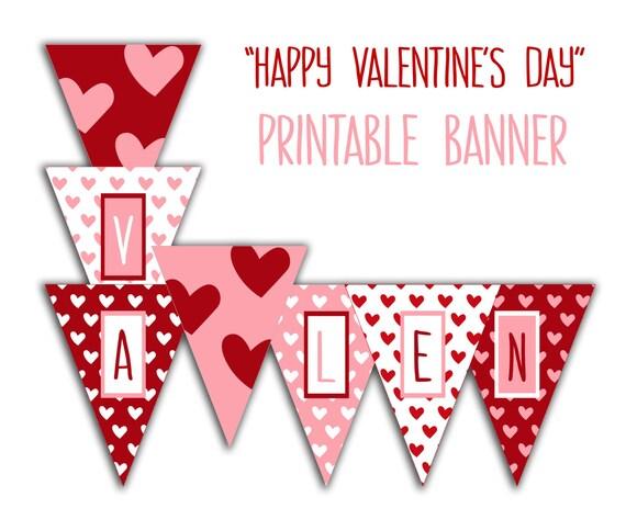 Valentines Day Banner Happy Valentines Day Banner Valentine