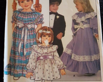 Butterick 6160, Vintage Toddler's Dress Pattern