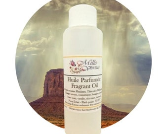 Organic Desert Rain Fragrant Oil - Natural Scent oil for soap, cosmetic and candle making