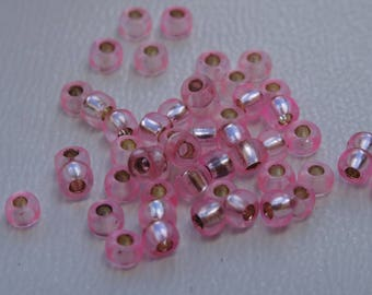 Seed beads 2mm Rose