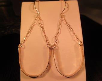 Unique Sterling Silver Dangle Earrings