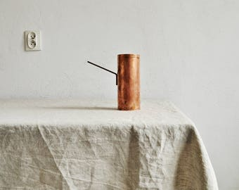 Linen Tablecloth / Natural Flax Tablecover / Dining Tablecloth / Handmade Tablecloth / Christmas Table / Table Linens / Housewarming Gift.