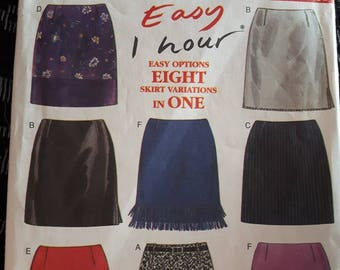 New Look 6789, Skirt Sewing Pattern