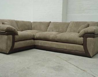 Lavish corner in brown and mocha