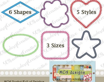 Pocket Full of Patches Design Set (includes 6 shapes in 5 styles and 3 sizes)