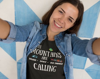 Mountains are Calling - Women's short sleeve t-shirt