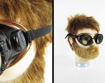 Vintage des années 40 Willson lunettes Steampunk sécurité motos lunettes en bakélite - Made in USA