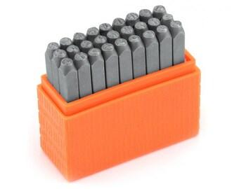 Metal Stamping Kit Impressart Bridgette Uppercase Stamps Alphabet Stamps Letter Stamps Basic 3mm Stamps Metal Stamping Tools