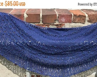 ON SALE 20% DIscount Shawl beaded lace
