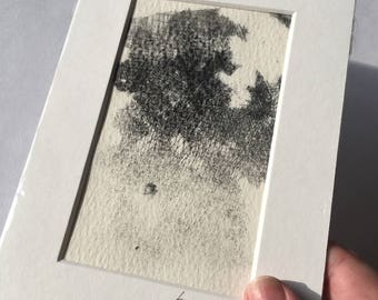 Etching, handmade, print, abstract, texture.
