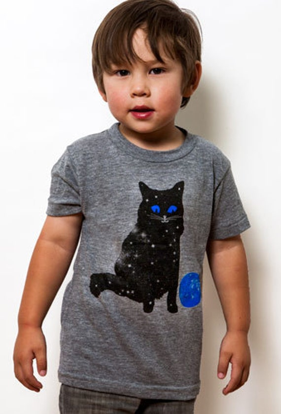 Kids Space Kitty Tee