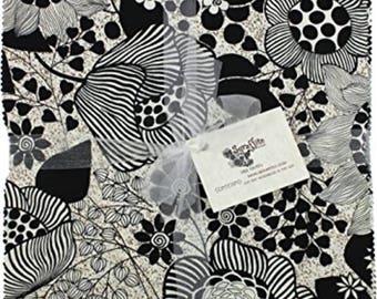 "Benartex - Sgraffito 10"" Squares/Layer Cake by Elise K. - 42, 10"" x 10"" Precut Fabric Squares"