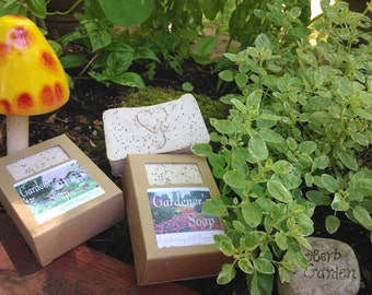 GARDENER'S SOAP ~ With Exfoliating POPPY Seeds & Essential Oils
