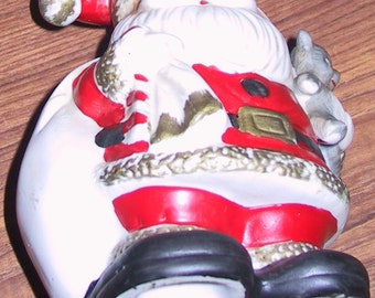 Vintage Santa Claus Bank/ Dept 56?