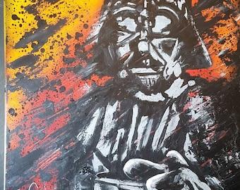 Star Wars pop art - Darth Vader