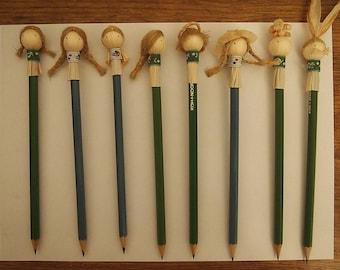 Pencil  from  corn husk