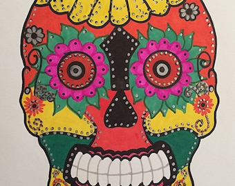 Sugar Skull #2 - Original Artwork