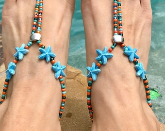 By the Beach barefoot sandals