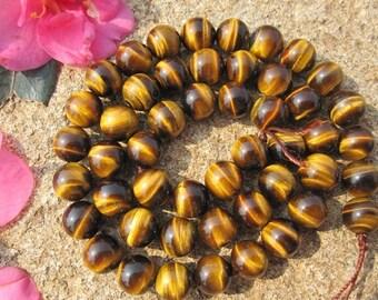 A grade tiger eye Round beads,Chakra stone 6mm 8mm 10mm 12mm