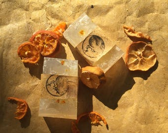 Calming and relaxing Sweet almond orange soap