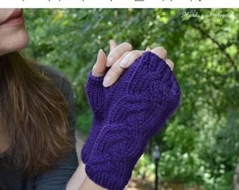 Graces Gloves Knitting Pattern