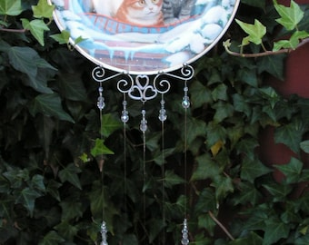 Windchime, Furry Flurry Collectible Plate