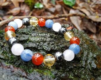 For the kidneys, semi precious beads bracelet