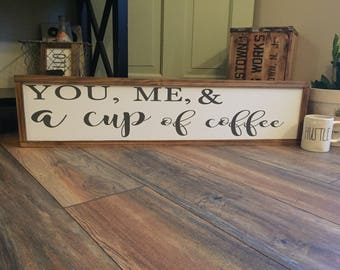 Coffee Signs for Kitchen, coffee bar sign, rustic wood coffee sign, coffee kitchen art, Rustic Coffee Sign, Farmhouse