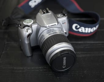 Canon EOS Rebel Ti 35mm Analog Film Camera with 28-90mm Lens