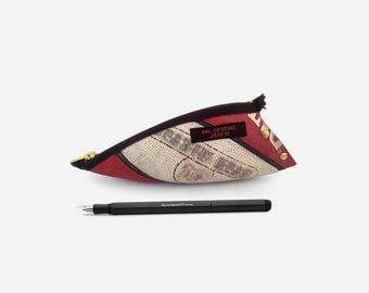 Basketball gift, basketball fan NBA, Sport fan, black red, pencil case black, trainer, man accessories cool, man athlete 18, urban